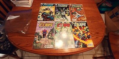 Comic book lot. Green Lantern Corps. 6 issues!!!
