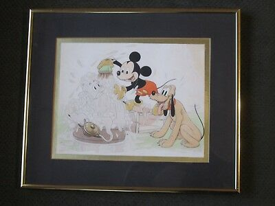 Mickey Mouse - Original 1940 Good Housekeeping Artwork - Walt Disney