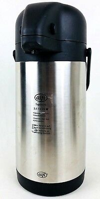 Alfi Toptherm Pump Thermos Hot Liquid Dispenser 2.5ltr Double Wall Stainless
