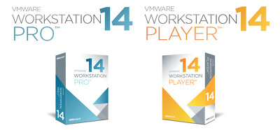 VMware Workstation 14 Pro for Lifetime Windows & Linux - INSTANT DELIVERY