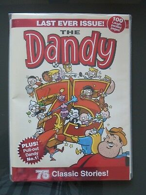 THE DANDY COMIC LAST EVER ISSUE 75years (4th December 2012)
