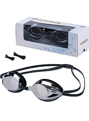 Swimming Goggles, ROTERDON Professional Swim Goggles Anti Fog UV Protection NEW