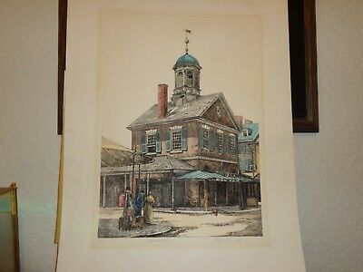 Mary Ann Lis Signed Artist Proof Color Etching