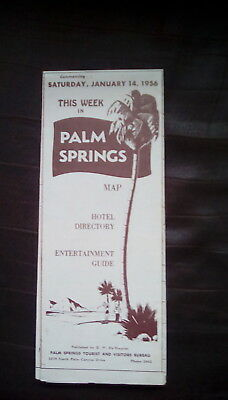 This Week In Palm Springs-January 14th, 1956