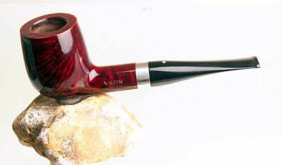 Tabakpfeife Pipe (61HH) VAUEN • LUXUS 8286 925 Sterling • 9 mm Filter • beraucht