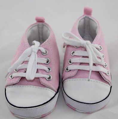 Converse Pink Pram Shoes Size 2 Baby