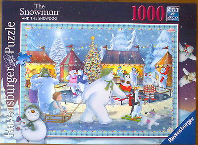 Ravensburger Puzzle 1000 Teile The Snowman and the Snowdog