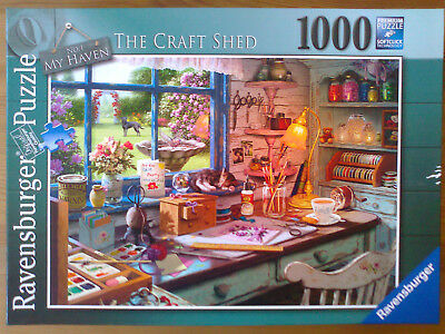 Ravensburger Puzzle 1000 Teile My Haven Nr. 1 The Craft Shed