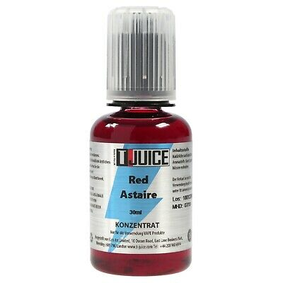 T-Juice 30ml Premium Aroma made in UK (Red Astaire)