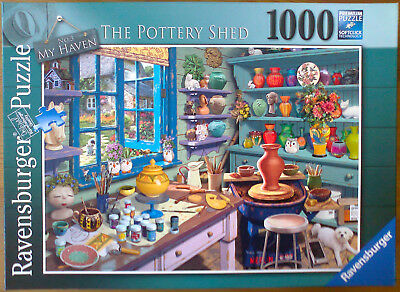 Ravensburger Puzzle 1000 Teile My Haven Nr. 3 The Pottery Shed
