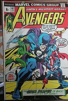 The Avengers # 107, High Grade Copy