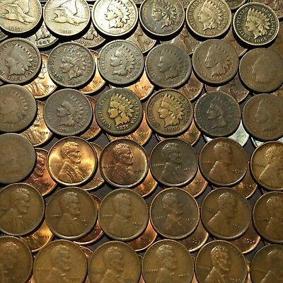 1877,1909S,INDIANS,1922D,1924D,LINCOLNS in 85 COIN LOT