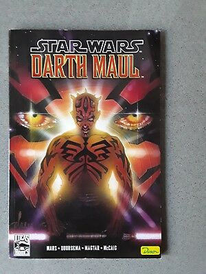 Star Wars Darth Maul Comic