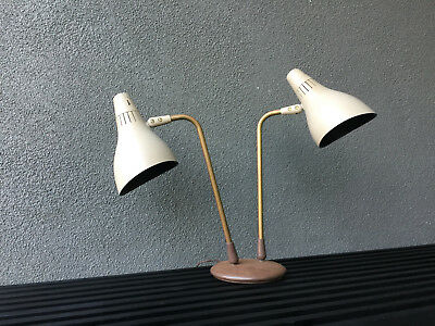 Lightolier Gerald Thurston Table Lamp Mid Century Modern Vintage Eames Era