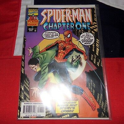 Spider-Man Chapter One #1 - SIGNED BY STAN LEE - Marvel Comics The Amazing