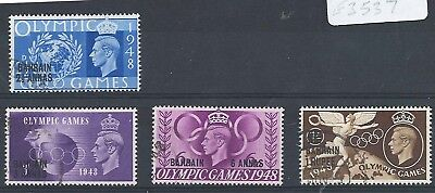Bahrain 1948 Olympics set very fine used cat £15 [ref a03 e3547] We will combine