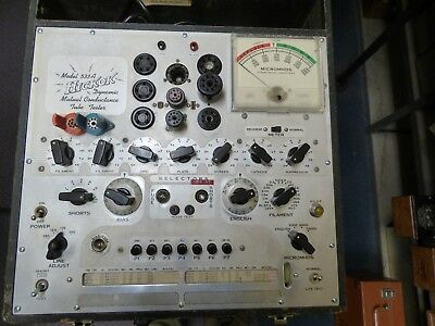 Hickok 533A Tube Tester Reconditioned w/New Socket Savers