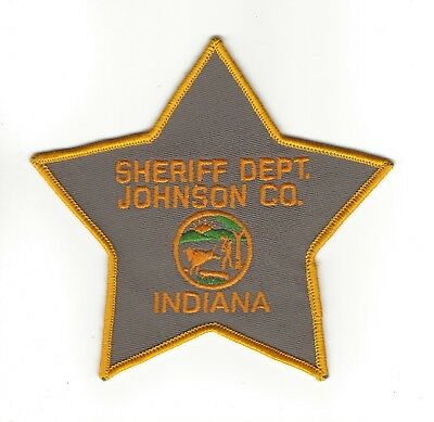 Johnson County IN Indiana Sheriff Dept. patch - NEW!