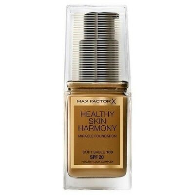 Max Factor Healthy Skin Harmony Miracle Foundation - 100 Soft Sable  - 30ml