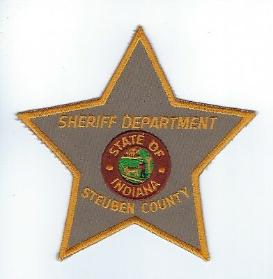 Steuben County IN Indiana Sheriff Dept. patch - NEW!