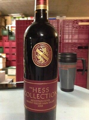 Hess Collection Mountain Cuvée Mount Veeder Napa Valley 25th Anniversary 2003
