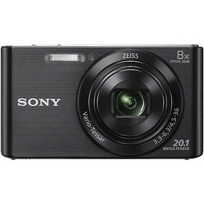 Sony Cybershot DSC-W830 20.1MP Digital Camera with 32GB Sandisk card