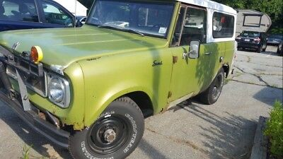 1969 International Harvester Scout  1969 International scout 800