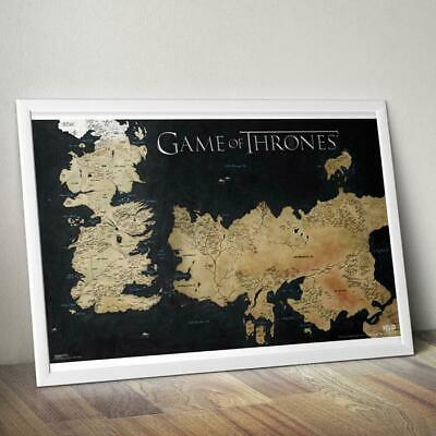 Game of Thrones Westeros Map Poster 61 x 91cm