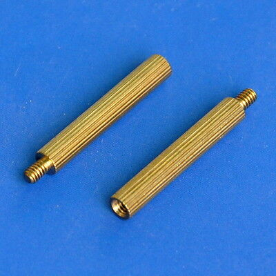 20pcs 20mm Threaded M2 Brass Male-Female Standoff, Spacer.