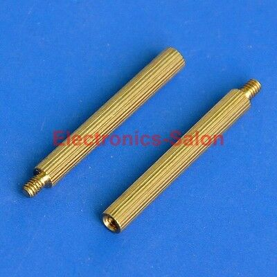 20pcs 25mm Threaded M2 Brass Male-Female Standoff, Spacer.