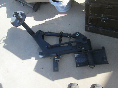 Used Rhino Spare Tire Carrier, Complete Less Nuts/Bolts, for HMMWV M998