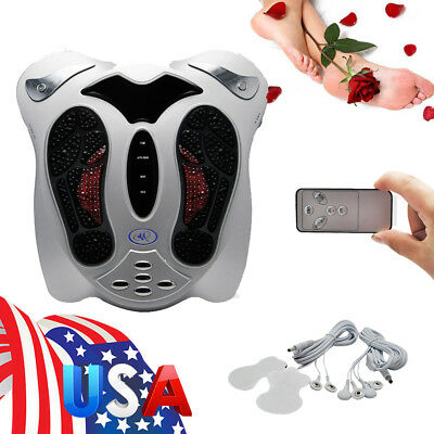 US Circulation Medical Blood Booster Foot Massager Infrared Remote Control A++
