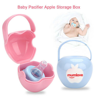 Holder Apple Baby'S Pacifier Box Creative 2 Colors Cases Unisex Kids 3332