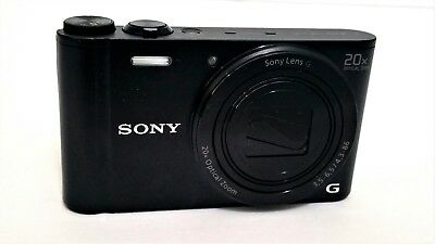 DEAL!! Sony Cyber-shot DSC-WX300 18.2MP Digital Camera - 2 Batteries - Mint Cond