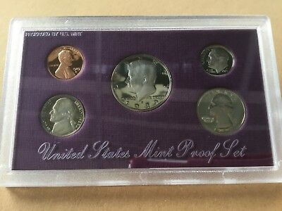 1989 US proof set