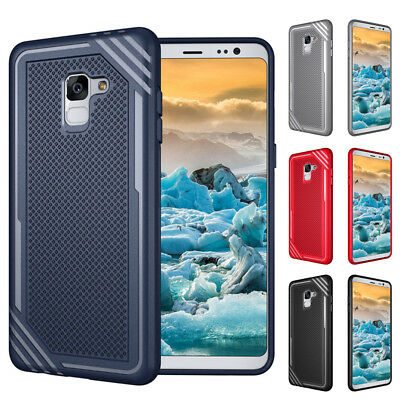Slim Rugged TPU Case Shockproof Cover for Samsung Galaxy S9 / S9 Plus A5 A8 2018