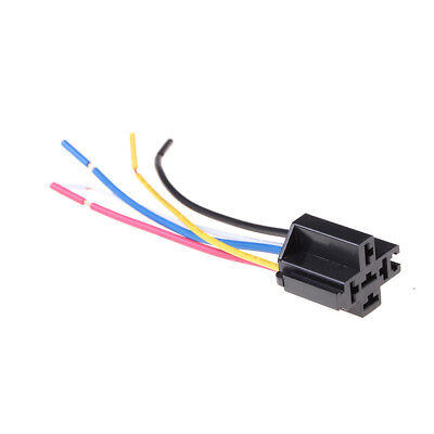 1Pcs 5 Pin Cable Relay Socket Harness Connector DC 12V for Car CP