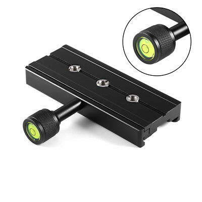 """QR-120 Clamp Adapter For Quick Release Plate 1/4"""" 3/8"""" for Arca SWISS RSS Tripod"""