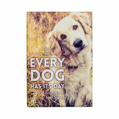 Every Dog Has It's Day - Affirmation Animal Card Set, APHDOG