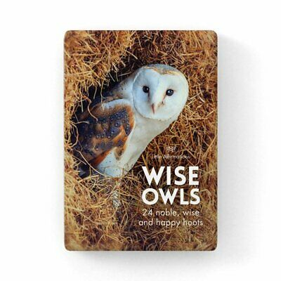 Wise Old Owl - Affirmation Animal Card Set - Affirmation Card Sets, APHDOW