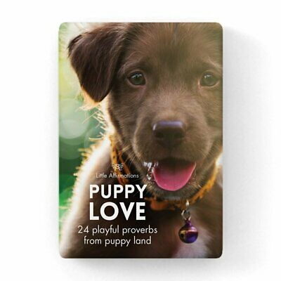 Puppy Love - Affirmation Animal Card Set - Affirmation Card Sets, APHDPU