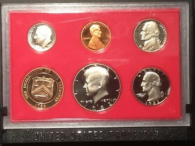 1982 US Proof set.