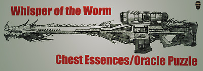 Destiny 2 PC - Whisper of the Worm - All 6 Chests and Enigmatic Blueprint Farm