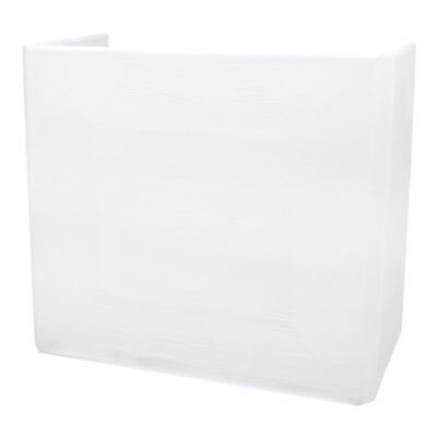 Equinox White Lycra Scrim Cover for Equinox Truss Booth