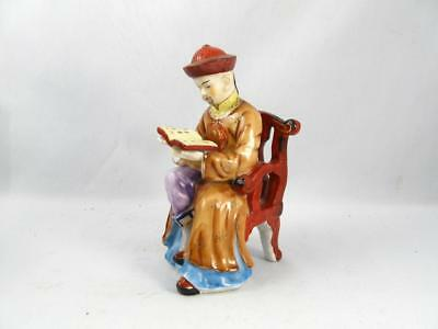 Vintage Shafford Hand Painted Porcelain Figurine Chinese/japanese Man