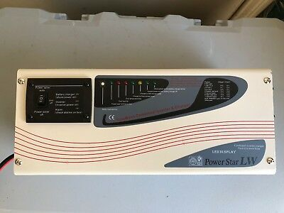 Power Star Pure Sine Wave Inverter LW500W-12