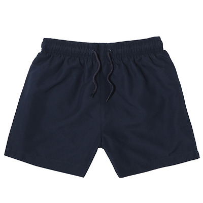 Active & Co Navy Size 6 14 Black Football Shorts Elastic Tie Waist Sport Shorts