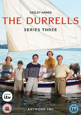 The Durrells Series 3 DVD (BRAND NEW)