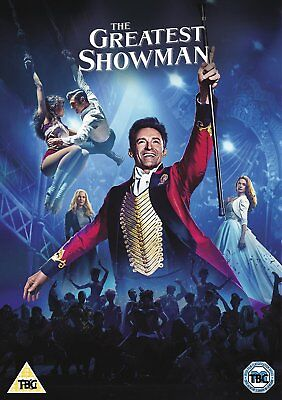 The Greatest Showman DVD (BRAND NEW)