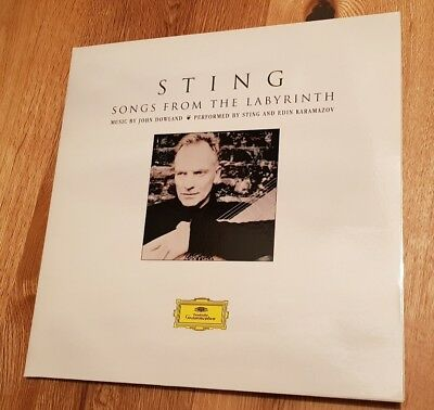 Sting - Songs From The Labyrinth  Audiophile 180g Vinyl LP  002894765722
